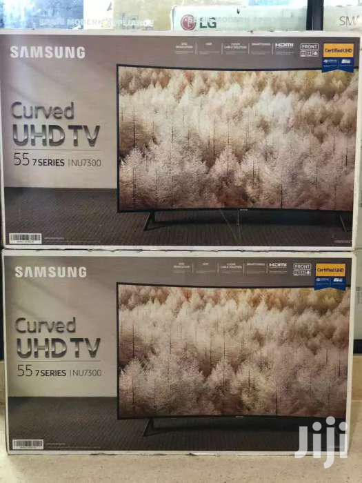 New Samsung Smart Curved UHD 4k Tv 55 Inches