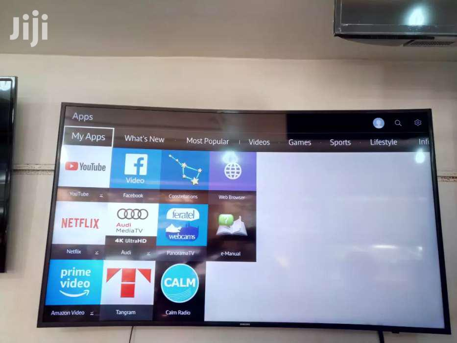 Samsung Smart Curved TV 60 Inches | TV & DVD Equipment for sale in Kampala, Central Region, Uganda