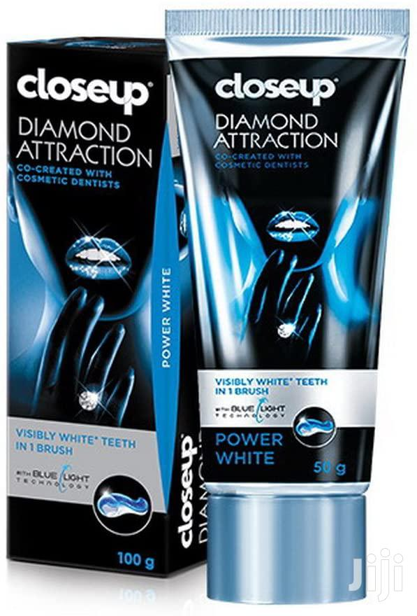 CLOSE UP DIAMOND ATTRACTION Toothpaste With Blue Light Technology 75ml | Bath & Body for sale in Kampala, Central Region, Uganda