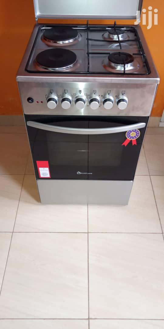 Blue Flame Gas and Electric Cooker