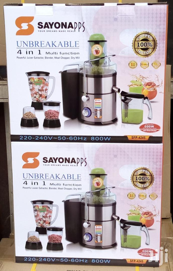 Archive: SAYONA Juice Extractor