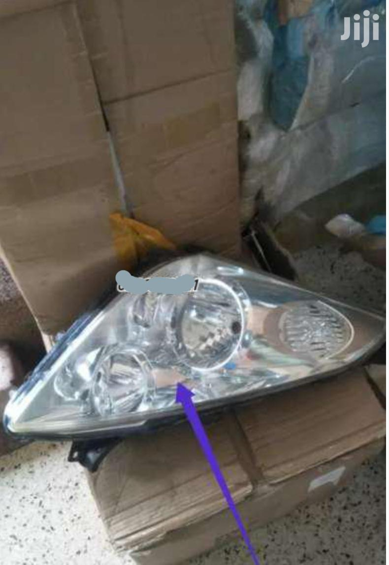 Toyota Wish Headlights