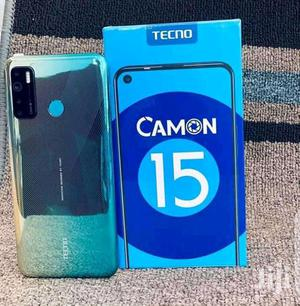 New Tecno Camon 15 64 GB Blue   Mobile Phones for sale in Central Region, Kampala