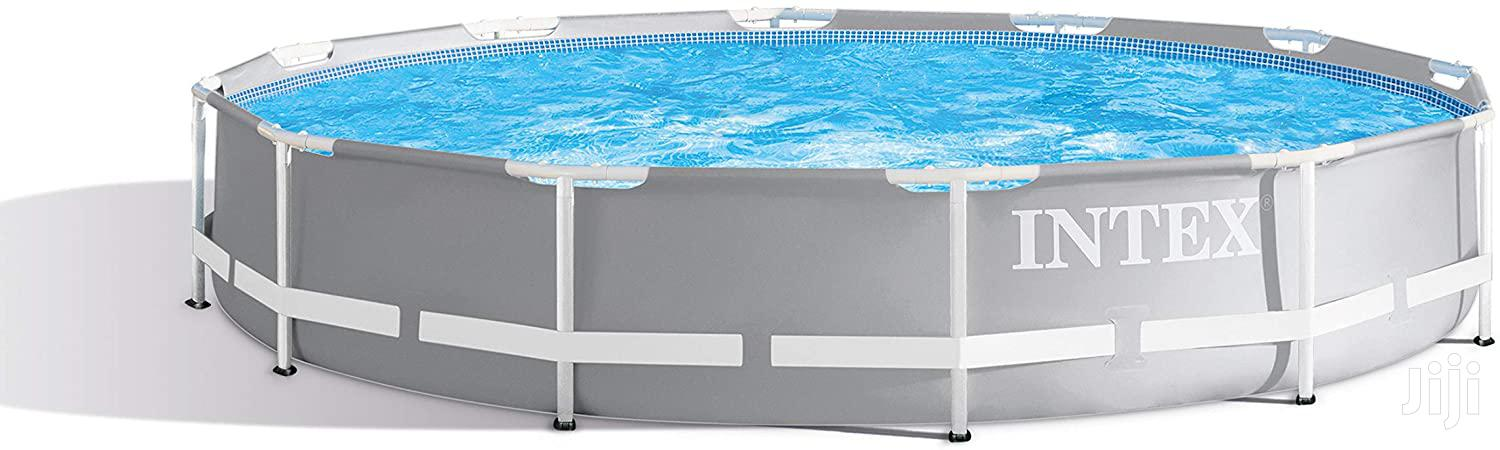 Intex 12ft X 30in Prism Frame Pool Set With Filter Pump | Garden for sale in Kampala, Central Region, Uganda