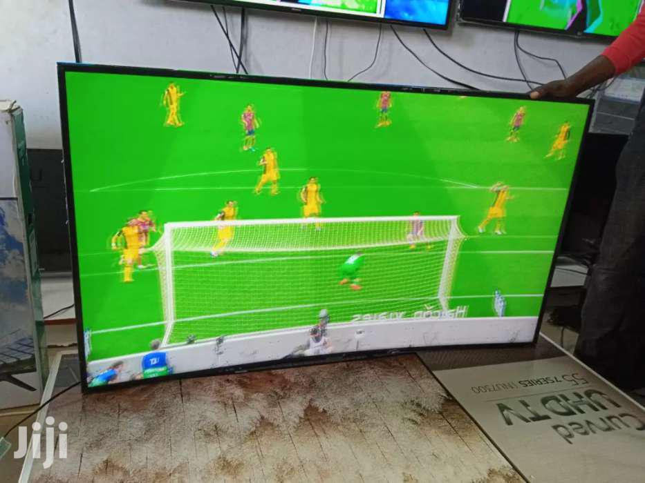 Samsung UHD 4K Smart Curved TV 55 Inches | TV & DVD Equipment for sale in Kampala, Central Region, Uganda