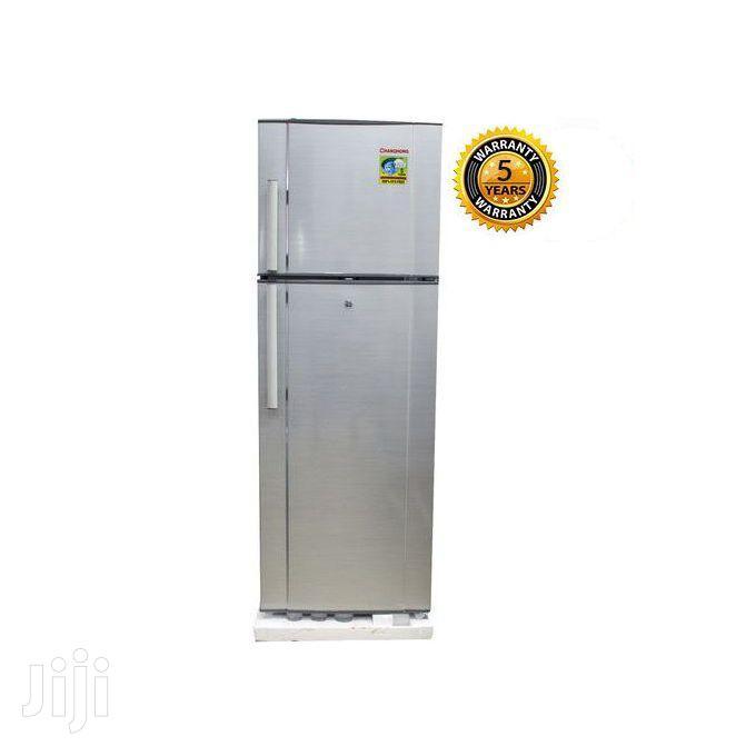 Changhong 260 Liters - Double Door Fridge Silver   Kitchen Appliances for sale in Kampala, Central Region, Uganda