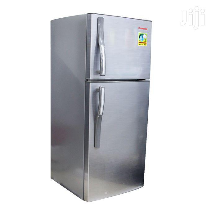 Changhong CD-155 -Top Freezer Double Door Refrigerator - 155L - Silver