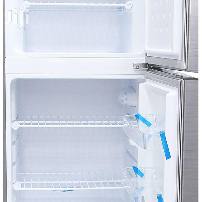 Changhong CD-155 -Top Freezer Double Door Refrigerator - 155L - Silver | Kitchen Appliances for sale in Kampala, Central Region, Uganda