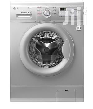 LG FH2G7QDY5 Steam Washing Machine - Silver Knob