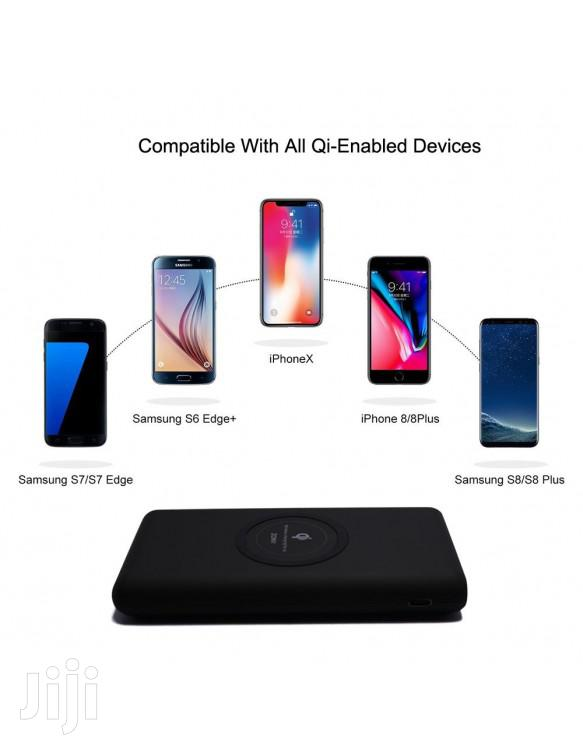 Powerology 2 in 1 Fast Wireless Power Bank Charger 10000mah | Accessories for Mobile Phones & Tablets for sale in Kampala, Central Region, Uganda