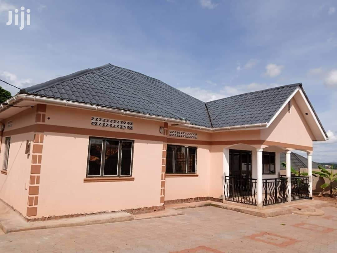 Three Bedroom House In Gayaza Nakwero For Sale