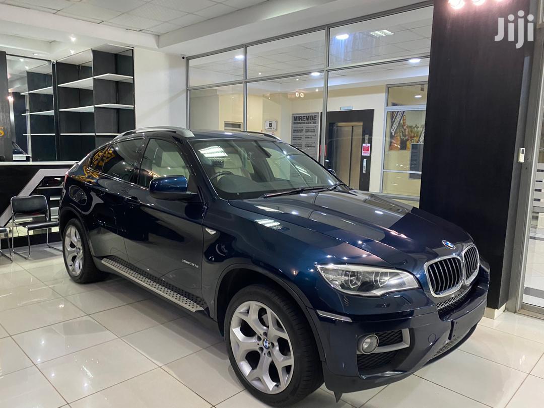 New BMW X6 2014 Blue