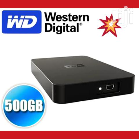 WD 500GB External Hard Drive