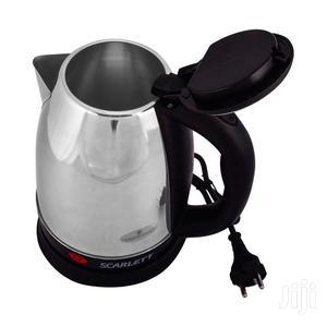 Scarlett Fast Boiling Percolator, 2 Litres - Silver,Black