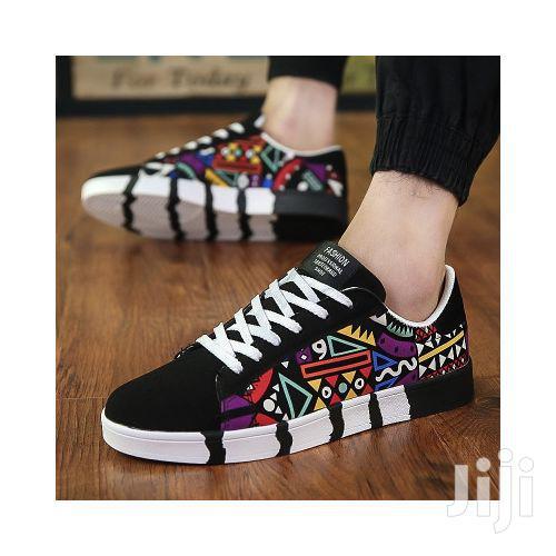 Men's Lace-up Designer Shoes - Multi-color