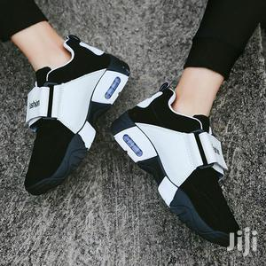 Men's Casual Sneakers - Black/White   Shoes for sale in Central Region, Kampala