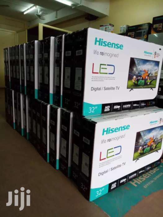 Brand New Hisense Flat Screen Tv 32 Inches   TV & DVD Equipment for sale in Kampala, Central Region, Uganda