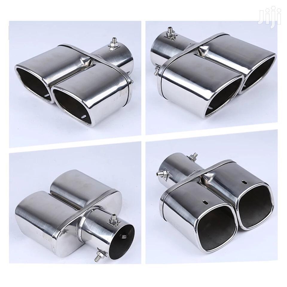Car Auto Round Exhaust Muffler Tip Stainless Steel Exhause