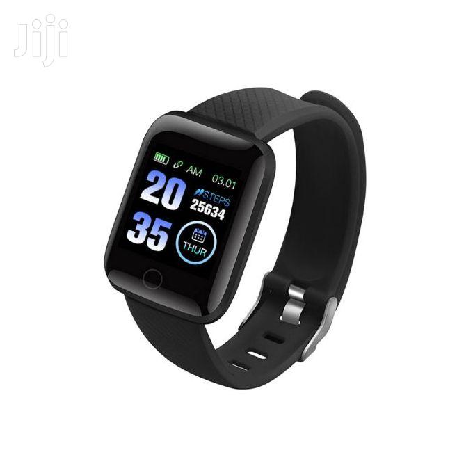 Hryfine Health And Fitness Tracking Smart Watch Bracelet | Smart Watches & Trackers for sale in Kampala, Central Region, Uganda