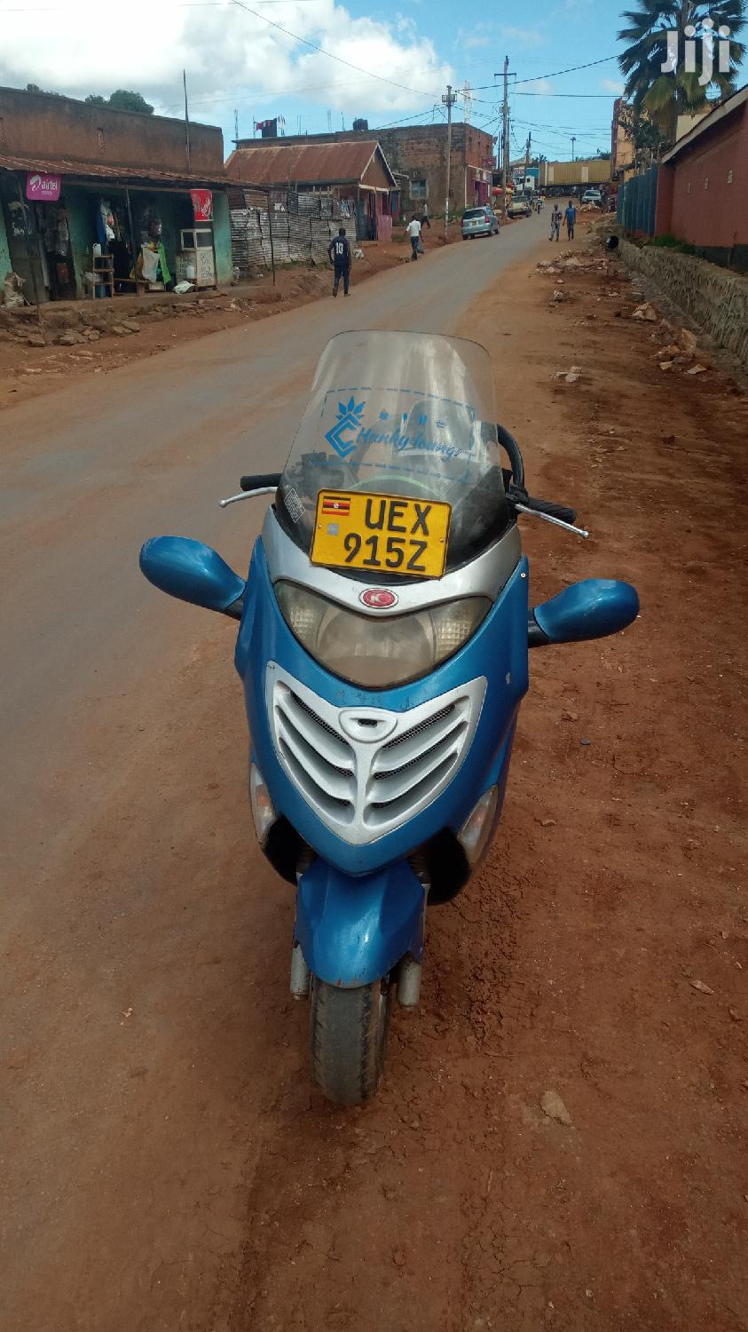 Archive: Kymco 2016 Blue