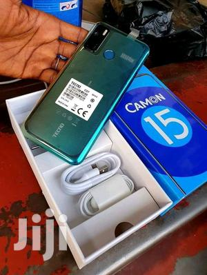 New Tecno Camon 15 64 GB Green   Mobile Phones for sale in Central Region, Kampala
