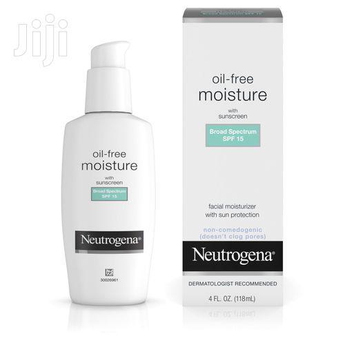 Neutrogena Oil Free Facial Moisturizer - SPF 15