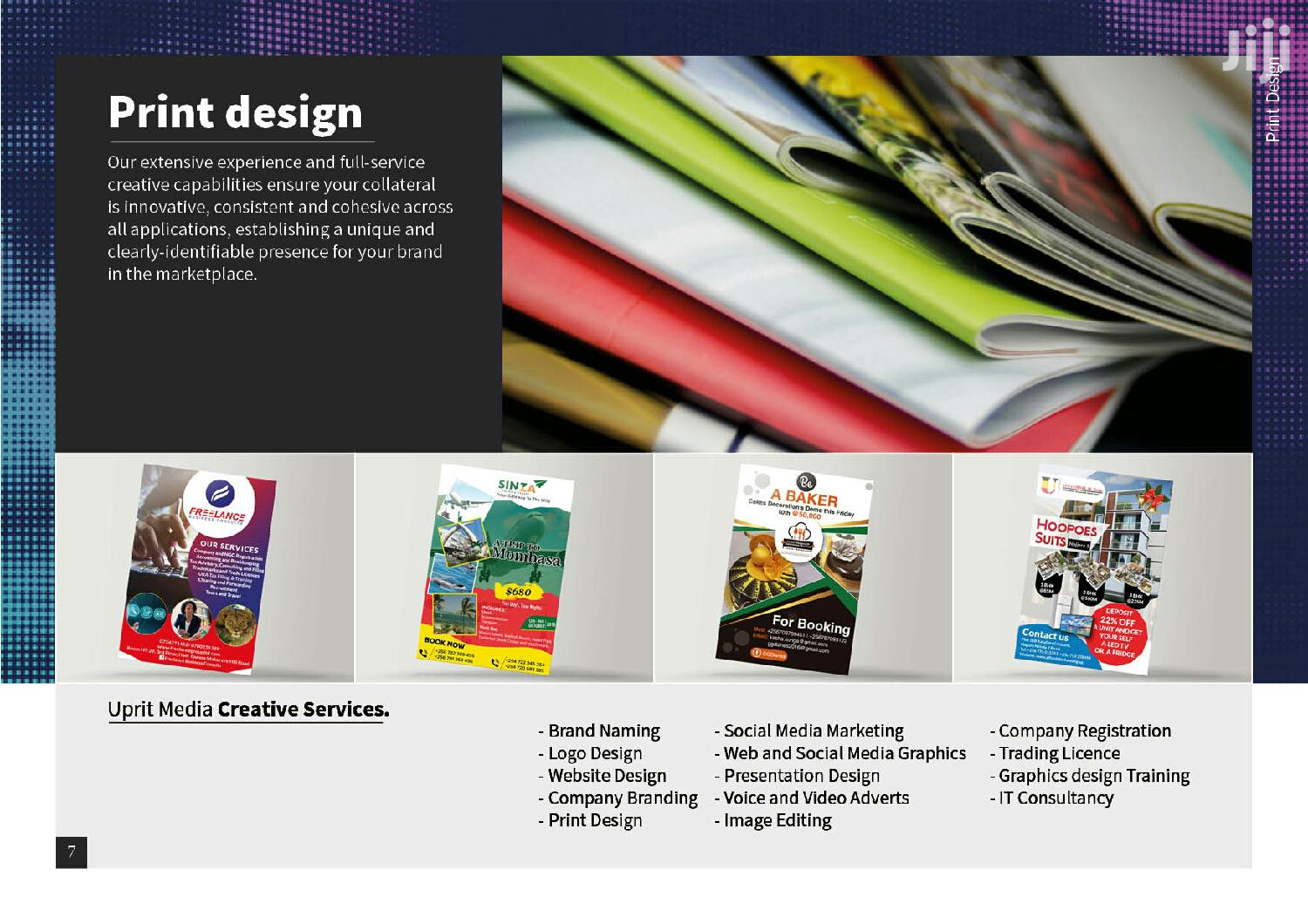 Get Graphics Design and Quality Printing Services | Printing Services for sale in Kampala, Central Region, Uganda