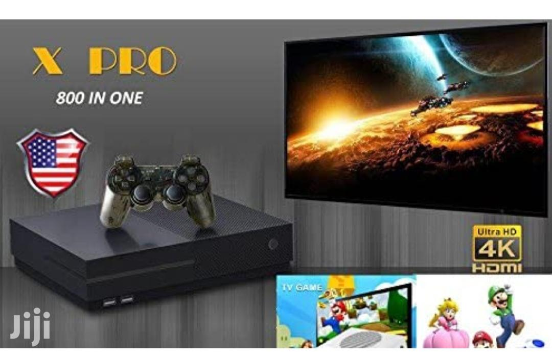 Classic Game Console X Pro 800 Games in 1 | Video Game Consoles for sale in Kampala, Central Region, Uganda