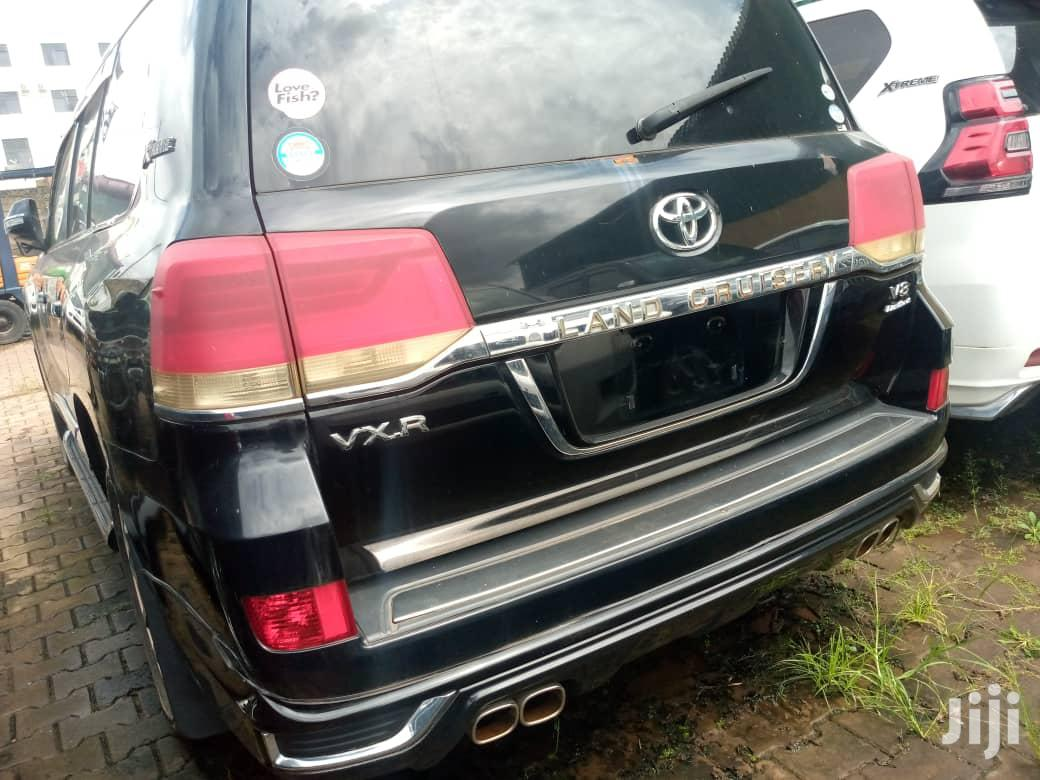 Toyota Land Cruiser 2007 Black