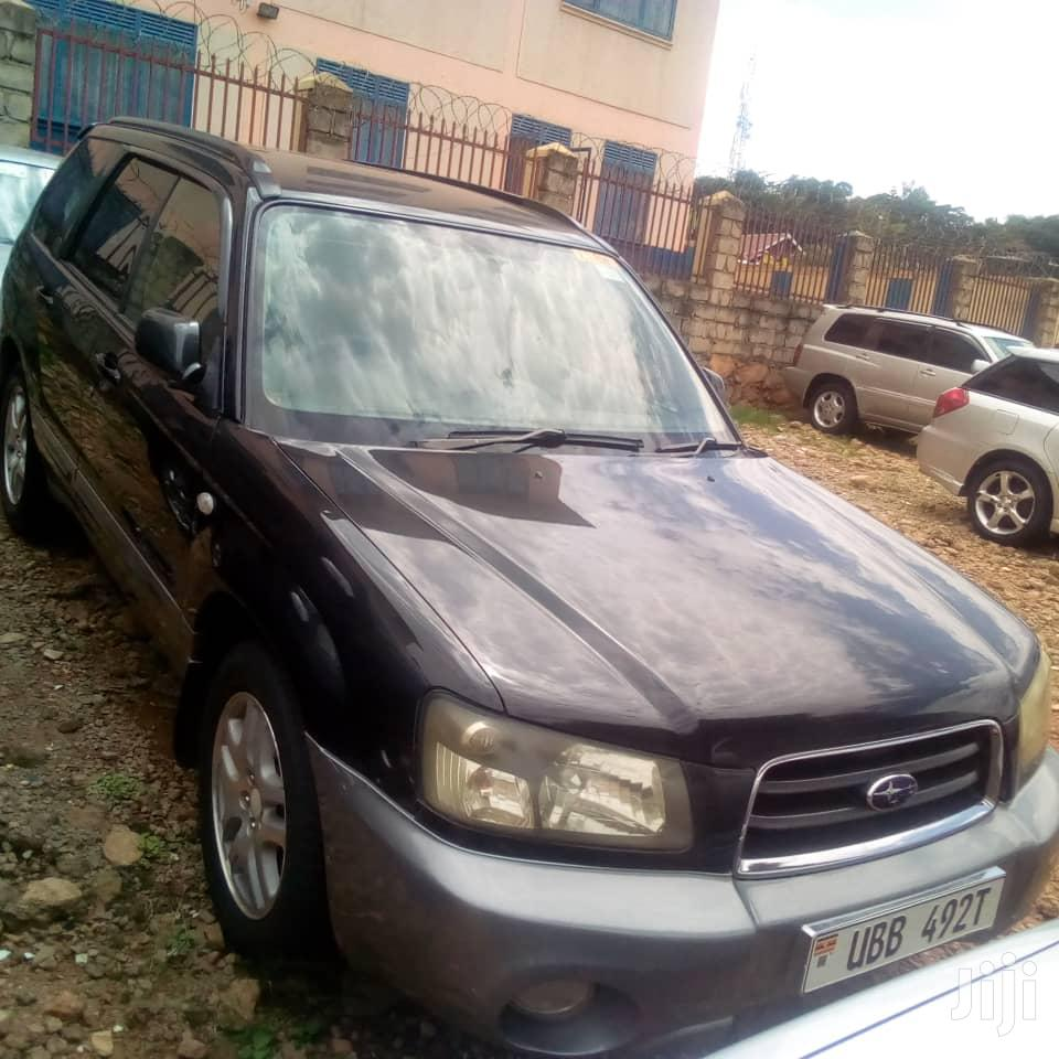 Subaru Forester 2003 Black
