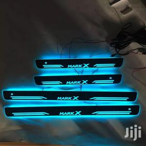 4PCS Welcome Pedal Car Exterior Parts LED Door Sill Light Reiz Mark X | Vehicle Parts & Accessories for sale in Central Region, Kampala