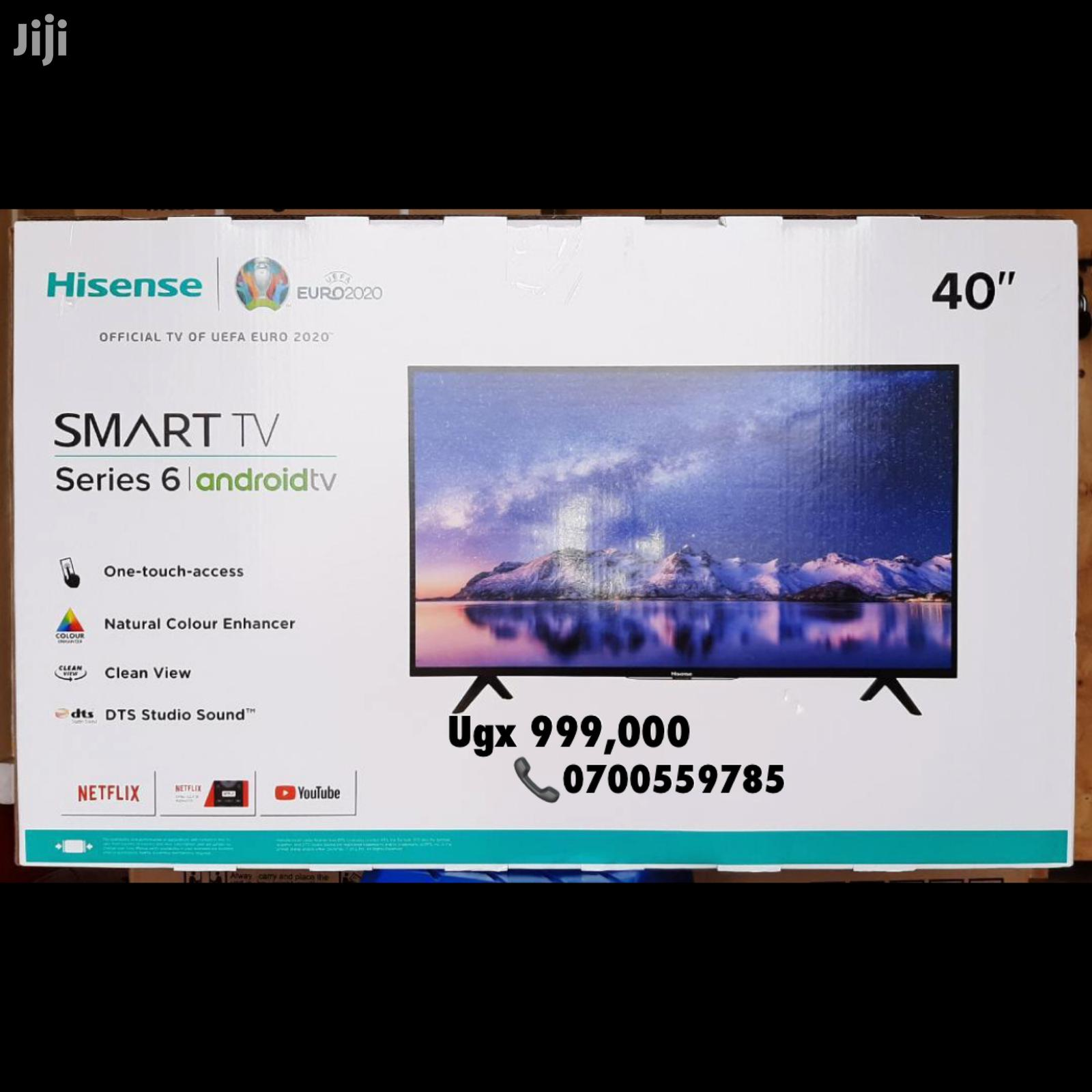 40 Inches Smart Hisense Android Flat Screen