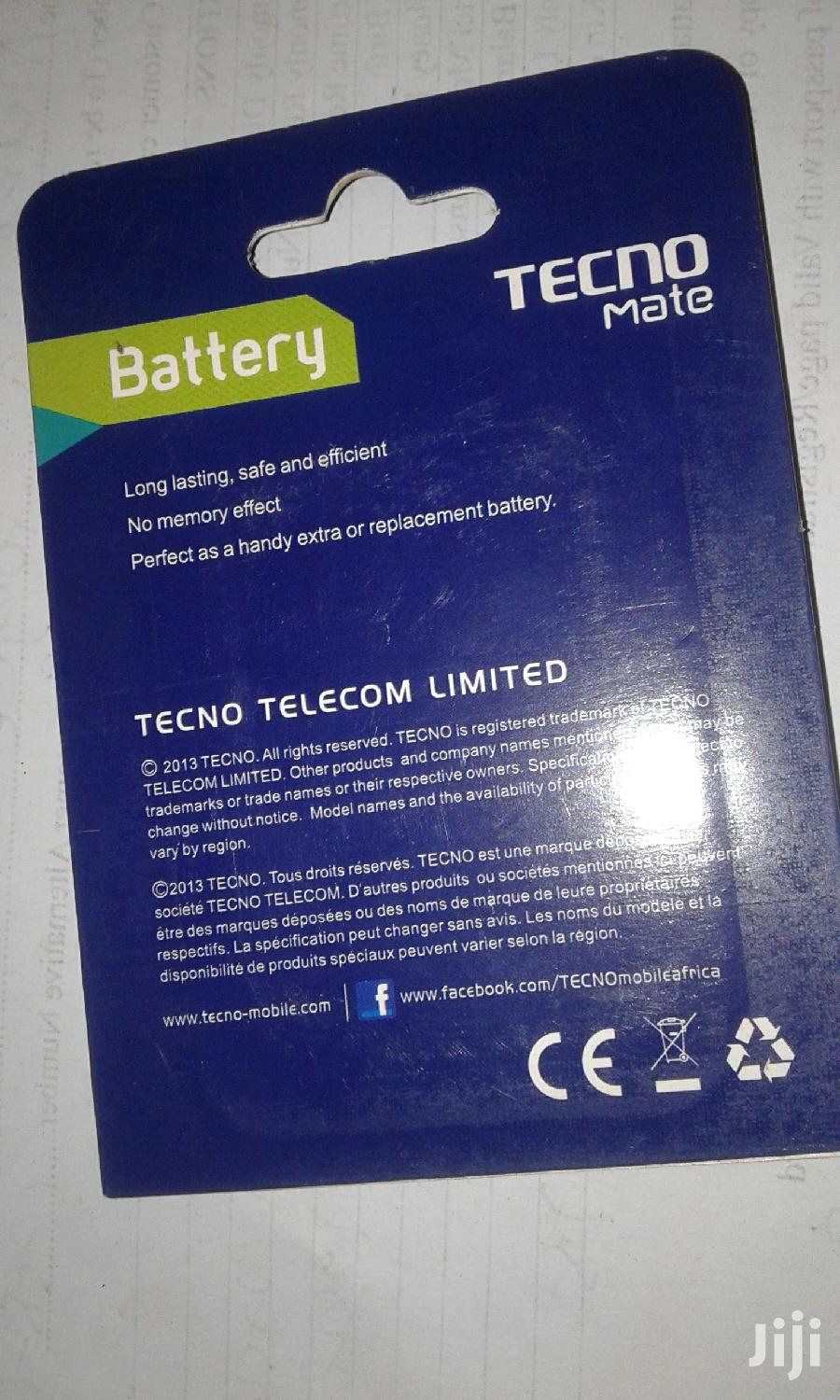 Techno 5C Battery   Accessories for Mobile Phones & Tablets for sale in Kampala, Central Region, Uganda