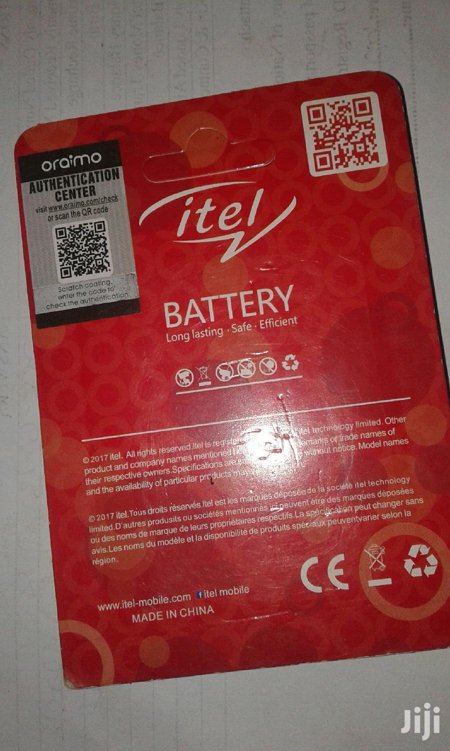 Itel Battery 5C   Accessories for Mobile Phones & Tablets for sale in Kampala, Central Region, Uganda