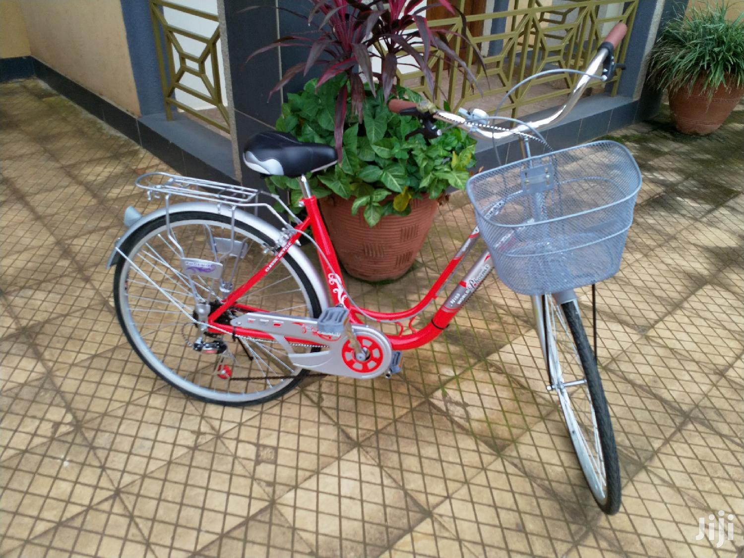 Brand New Red City Bikes With Gears | Sports Equipment for sale in Kampala, Central Region, Uganda