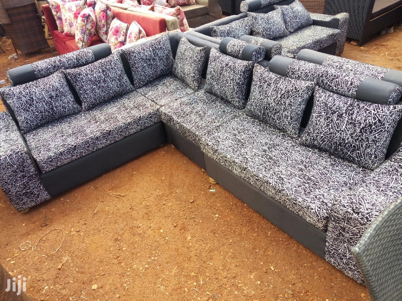 Sofa Set L Shaped | Furniture for sale in Kampala, Central Region, Uganda