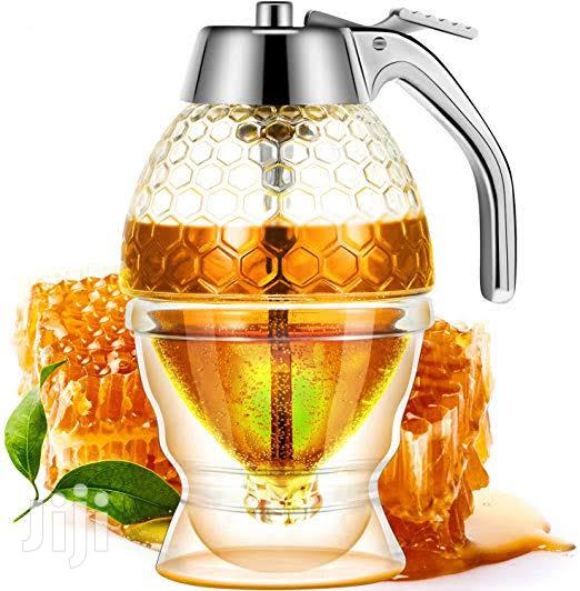 Acrylic Honey Dispenser With Stand Honey Container.   Kitchen & Dining for sale in Kampala, Central Region, Uganda