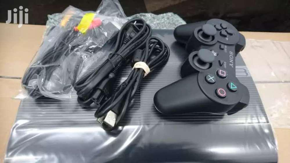Chipped Ps3 Console With 2 Pads And 20 Games Installed