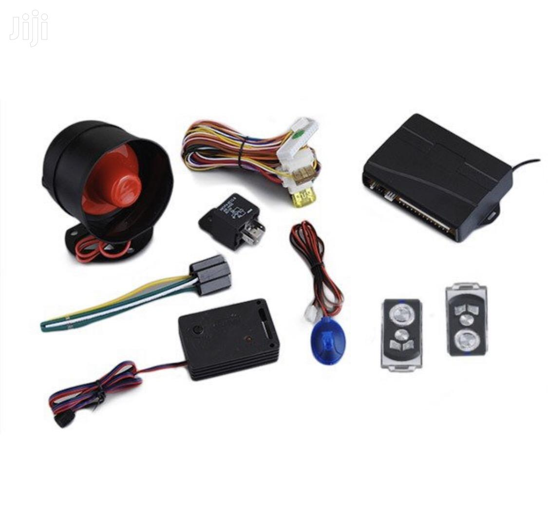 Car Security Alarm System With 2 Remotes