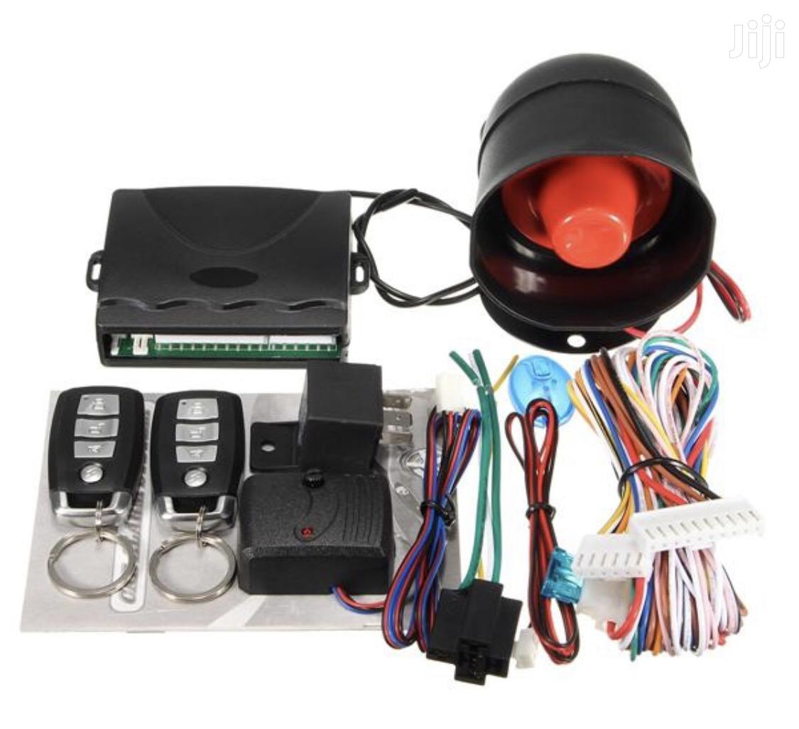 1 Way Car Security Alarm System W/2 Key
