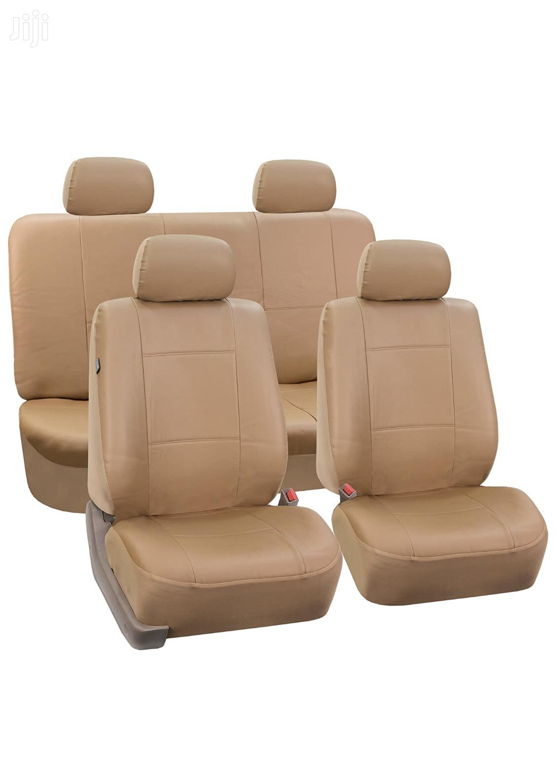 Wellfit Car Leather Cream Seat Covers