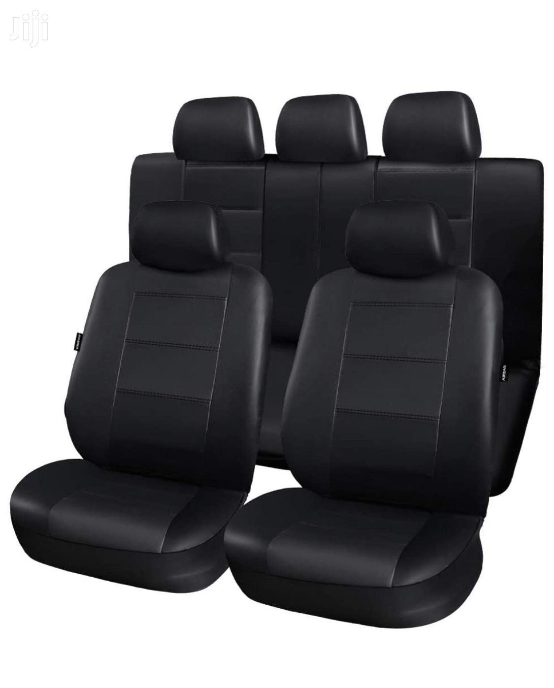 Full Set Car Seat Covers Black