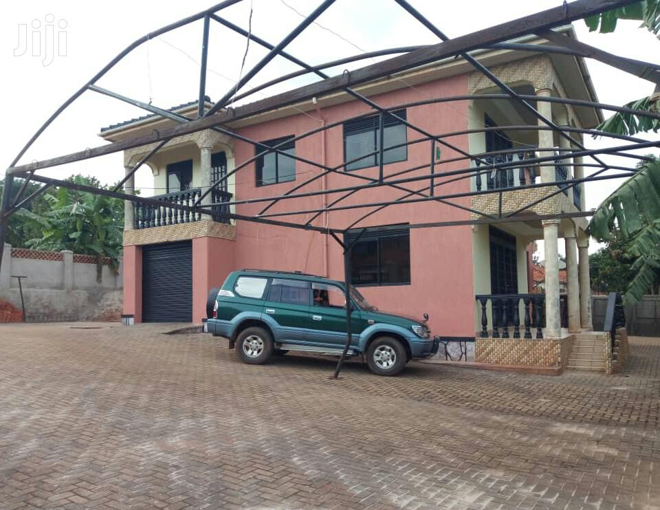 Four Bedroom House In Ntinda Kyambogo Road For Sale