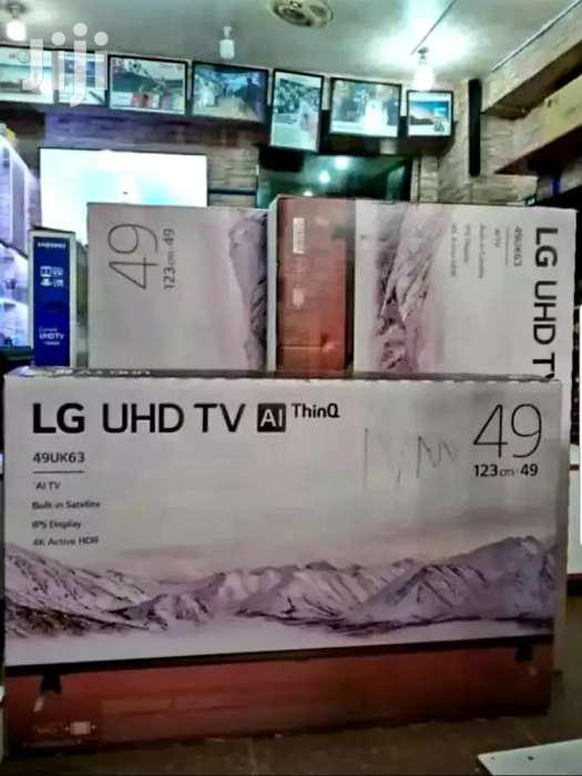 Archive: 49inches LG Smart UHD 4k TV