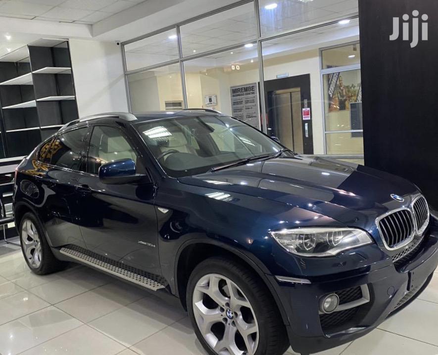 Archive: BMW X6 2014 Blue