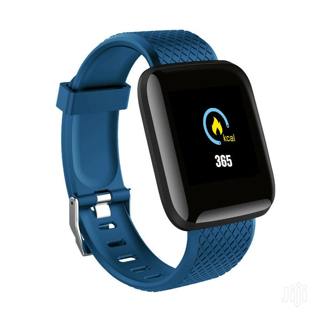 Hryfine Unisex Health & Fitness Tracker Smartwatch Bracelet | Smart Watches & Trackers for sale in Kampala, Central Region, Uganda