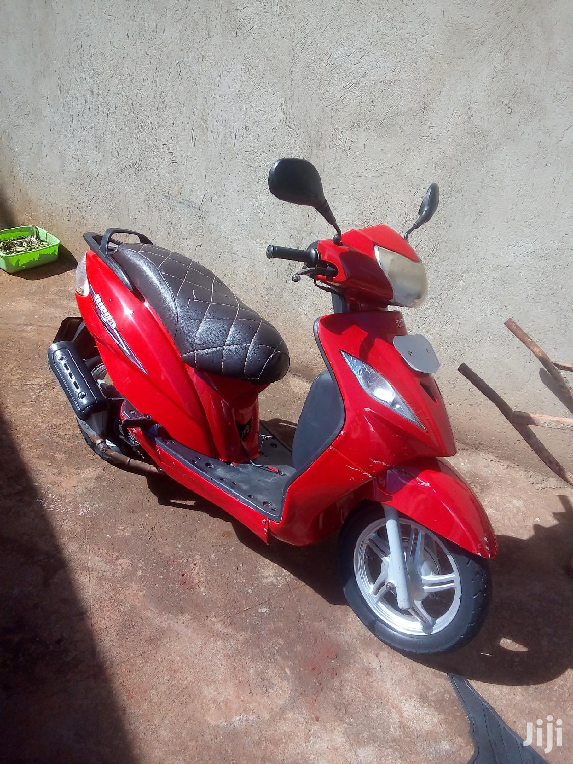 TVS Apache 180 RTR 2013 Red | Motorcycles & Scooters for sale in Kampala, Central Region, Uganda