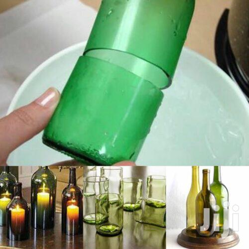 Glass Bottle Cutting And Design