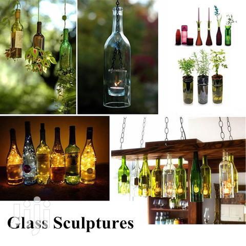 Glass Bottle Cutting And Design | Arts & Crafts for sale in Kampala, Central Region, Uganda