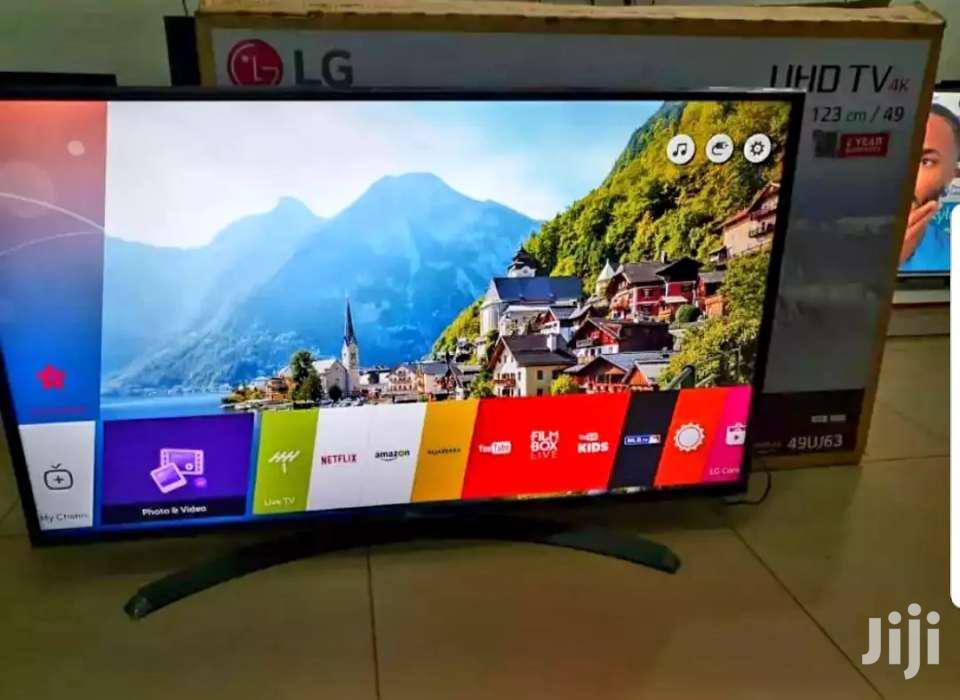 49inches LG Smart UHD 4k TV | TV & DVD Equipment for sale in Kampala, Central Region, Uganda